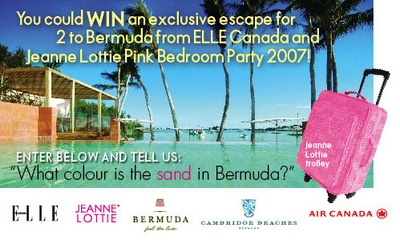 Elle Bermuda Contest Logo