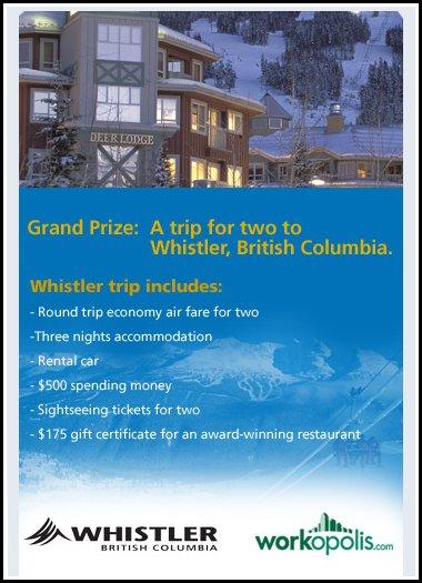 Whistler Contest